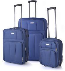 Sumatra Komplet 3 walizek poszerzanych, na kółkach z walizką kabinową XS WIZZAIR