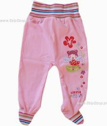 Półśpioch dla niemowląt Bartoszek różowy 80