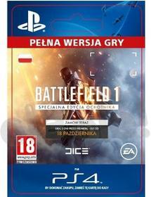 Sony Battlefield 1 Specjalna Edycja Ochotnika [kod aktywacyjny] Dostęp po opłaceniu zakupu