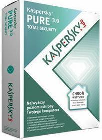 Kaspersky Pure 3.0 (3 stan. / 1 rok) - Nowa licencja
