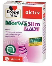 Queisser DOPPELHERZ AKTIV MORWA SLIM EFEKT - 60 tabl. 8309341
