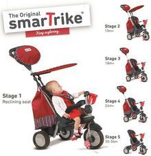 Smart Trike Splash 5w1 rowerek czerwony
