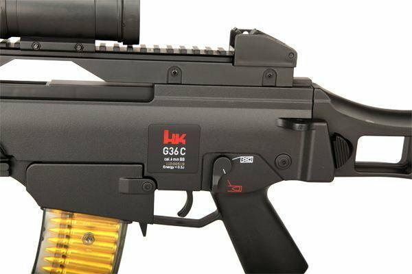 H&K Karabinek AIR-SOFT ASG H K G36 C