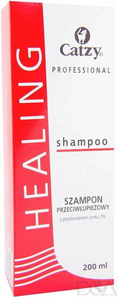 CATZY Healing szampon przeciwłupieżowy 200ml