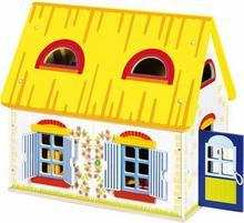 Goki Drewniany domek dla lalek - 51742
