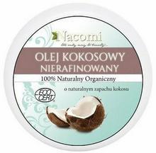 Nacomi Olej kokosowy NIERAFINOWANY NACOMI