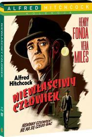 Niewłaściwy człowiek DVD) Alfred Hitchcock