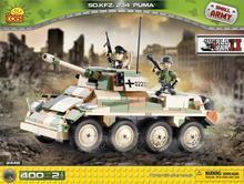 Cobi Small Army Samochód pancerny SD KFZ 232 PUMA 2446