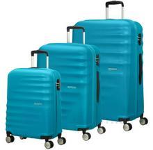 Samsonite AT by Zestaw walizek AT WAVEBREAKER 74137 Niebieskie - niebieski