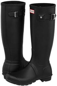 Hunter Buty Womens Original Tall Black (HU18-a) czarny WFT1000RMA