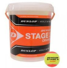 Dunlop Piłka Tenisowe Stage 2 Orange 60 szt. - (wiadro)