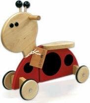 Gepetto Jeździk drewniany Biedronka