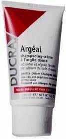 Ducray Argeal Szampon-krem na bazie glinki absorbujący nadmiar łoju 150ml
