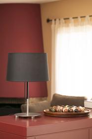 Faro Barcelona Volta Lampa stołowa Nikiel matowy, 1-punktowy 20026