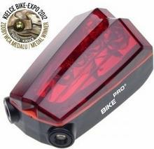 Mactronic Lampa rowerowa czerwona tylna laser BPM-LASER-LED
