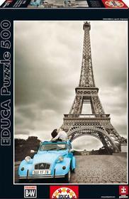 Educa Borras Puzzle Wieża Eiffla Paryż 500