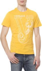 Versace Jeans T-shirt Żółty XL