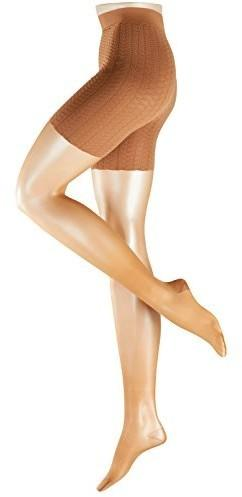 Falke Rajstopy Cellulite Control 20 DEN dla kobiet, kolor: beżowy, rozmiar: 44 (rozmiar producenta: 44-46)