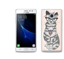 Etuo.pl Fantastic Case - Samsung Galaxy J3 (2017) - etui na telefon Fantastic Case - kociak ETSM456FNTCFC039000