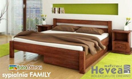 Hevea Sypialnia FAMILY 200x90