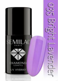 Semilac Lakier hybrydowy 035 Bright Lavender