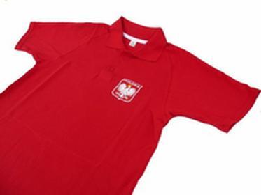 poloT-shirt Polska Czerwona