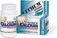 Unipharm Vitrum Calcium 1250 + witamina D3 120 szt.