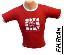 T-Shirt bawełniana Cracovia Kraków czerwony