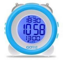 Budzik elektroniczny Gotie GBE-200 niebieski