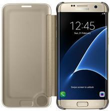 Samsung Galaxy S7 Clear View Cover EF-ZG930CF złoty EF-ZG930CFEGWW