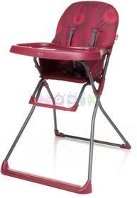 4Baby Krzesełko do karmienia Flower (czerwone) 12774