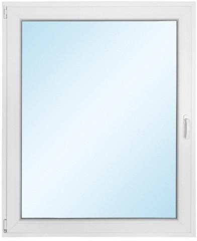 Okno PCV rozwierno - uchylne 1165 x 1435 mm lewe