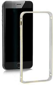 Samsung Ramka ochronna QOLTEC na Galaxy S5 | srebrna | alu. 51377