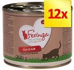 Feringa Menu 2 smaki 12 x 200 g Kaczka i cielęcina