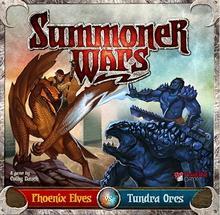 Cube Summoner Wars: Elfy Feniksa vs Tundrowe Orki