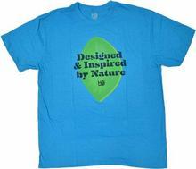 Habitat koszulka - Designed By Nature Turq Hthr (MODRA)