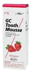GC Japan TOOTH MOUSSE zapenia dodatkową ochronę zębów, pomaga neutralizować dzia