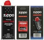 Zippo Zestaw eksploatacyjny (benzyna, knot, kamienie)