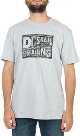DC Shoes T-shirt DC Press DRMJE142-HTRD Szary