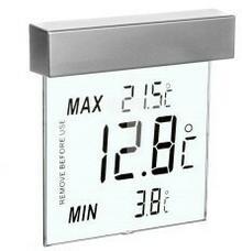 TFA Termometr okienny Vision 25°C do +70°C duże cyfry 30.1025 TFA 0001-00010-74129