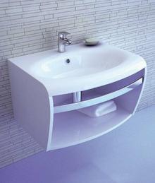 Ravak Evolution szafka SD z relingiem pod umywalkę biała X000000364