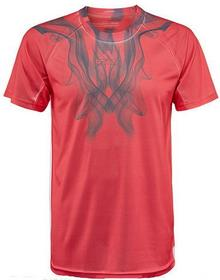 adidas Koszulka Chłopięca adizero Tee - semi flash red/solid grey