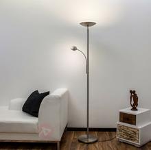 Lampenwelt Lampa stojąca Malea LED, z ramieniem do czytania