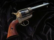 Denix UNIKATOWA REPLIKA BRONI - ZDOBIONY REWOLWER KALIBER 45 S.COLT USA 1886r.