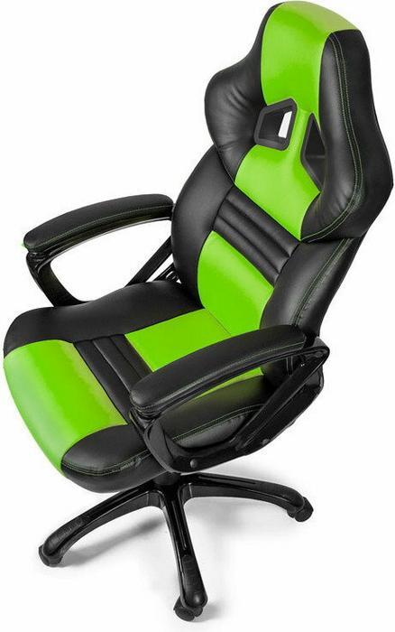 AROZZI Monza - Fotel gamingowy - zielono czarny MONZA-GN