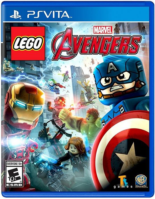 LEGO Marvels Avengers PS Vita