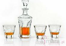 Bohemia Karafka i Szklanki do whisky Apollo Crystalite