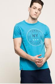 Tommy Hilfiger T-shirt MW0MW00774 niebieski