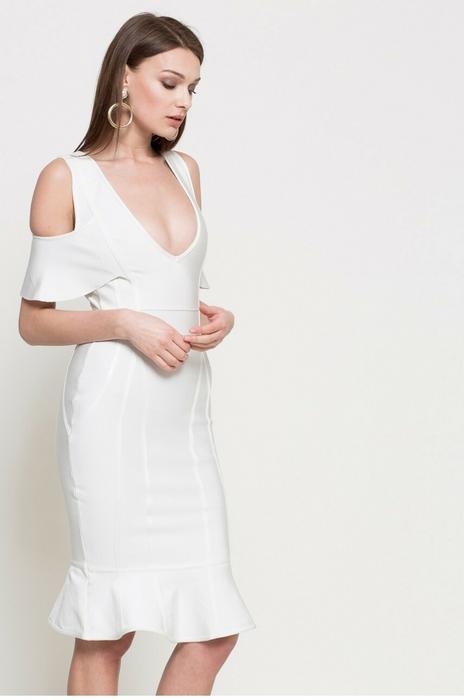 Missguided Sukienka DE909242 biały