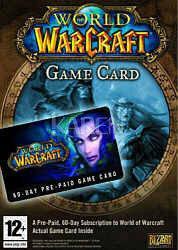 Vivendi World of Warcraft PC Game Card karta pre-paid